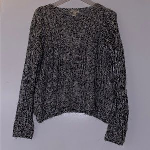 Gray marled sweater. Never worn!